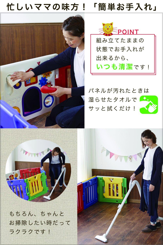 日本育児ベビーサークル ミュージカルキッズランドDX パネル